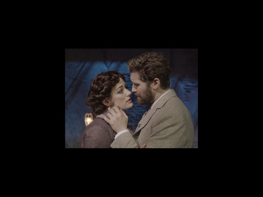 VS - Finding Neverland Broll - 4/15 - Matthew Morrison and Laura Michelle Kelly