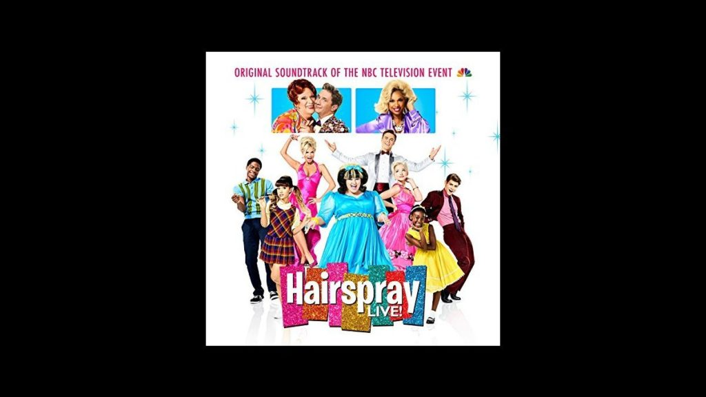 Hairspray Live Soundtrack art