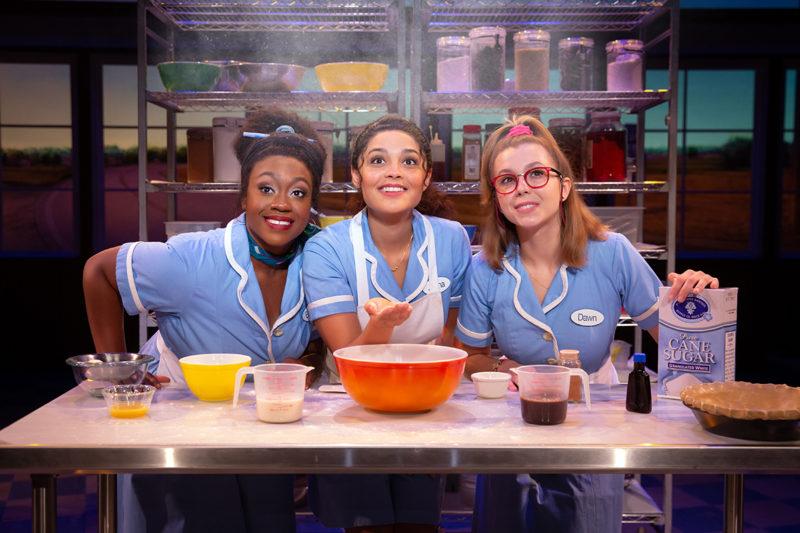 Kennedy Salters, Jisel Soleil Ayon and Gabriella Marzetta in Waitress_Credit Jeremy Daniel_WAIT_0456_full
